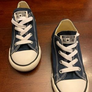 Like New Converse - Navy Blue - Size 10 (toddler)